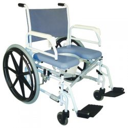 Rent a a shower - commode chair self-propelled (with brake) in Marbella -  spain